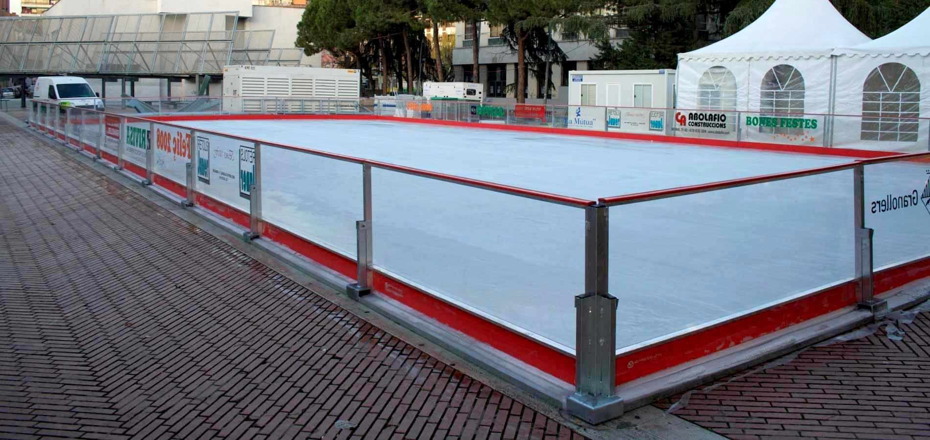 SYNTHETIC ICE SKATING