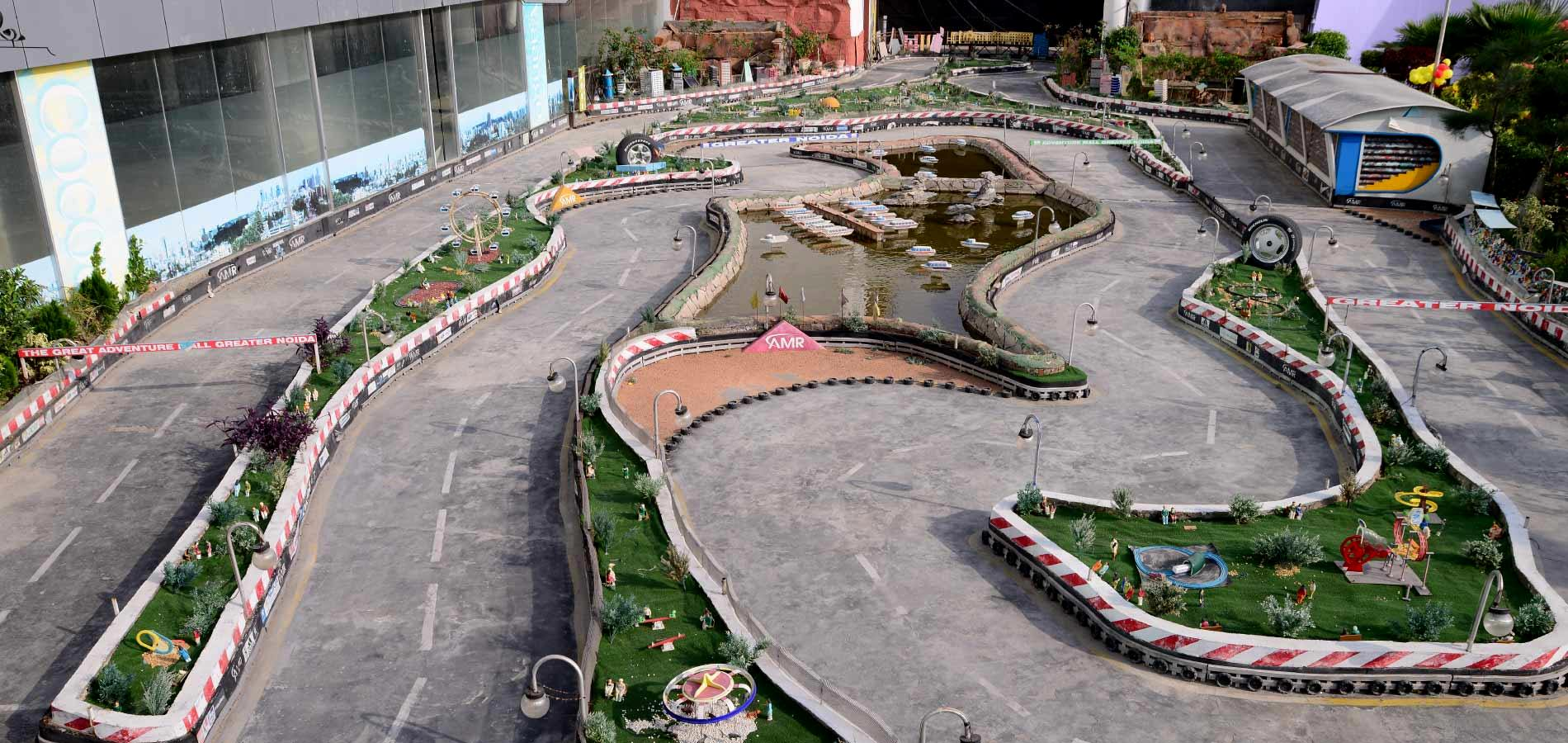 RC remote controlled cars track india