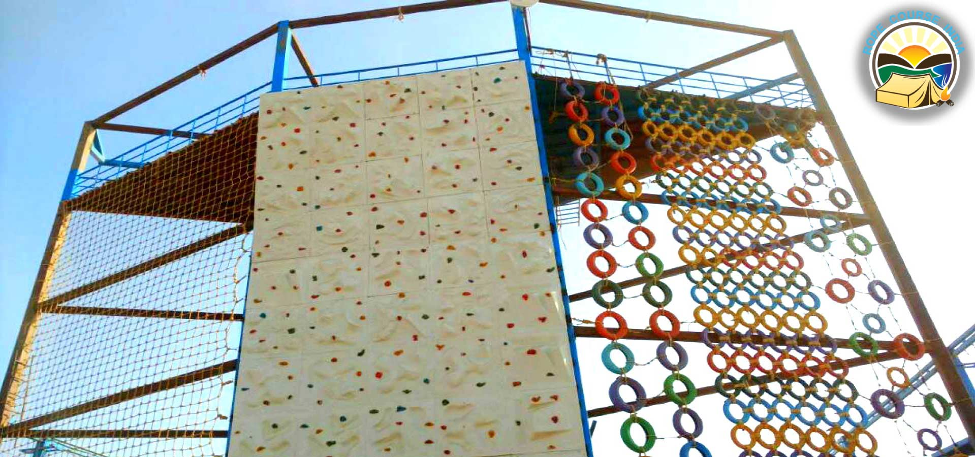 Climbing Wall Design Company : Rock climbing wall setup cost in india