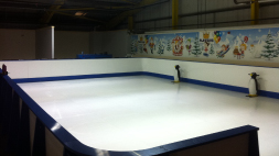 INDOOR SYNTHETIC ICE SKATING RING